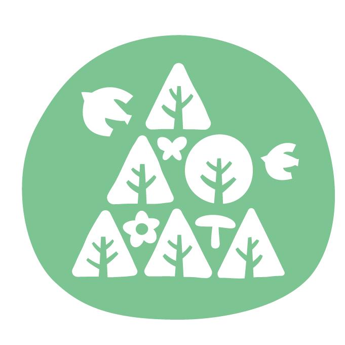 森づくりフォーラム新ロゴマーク