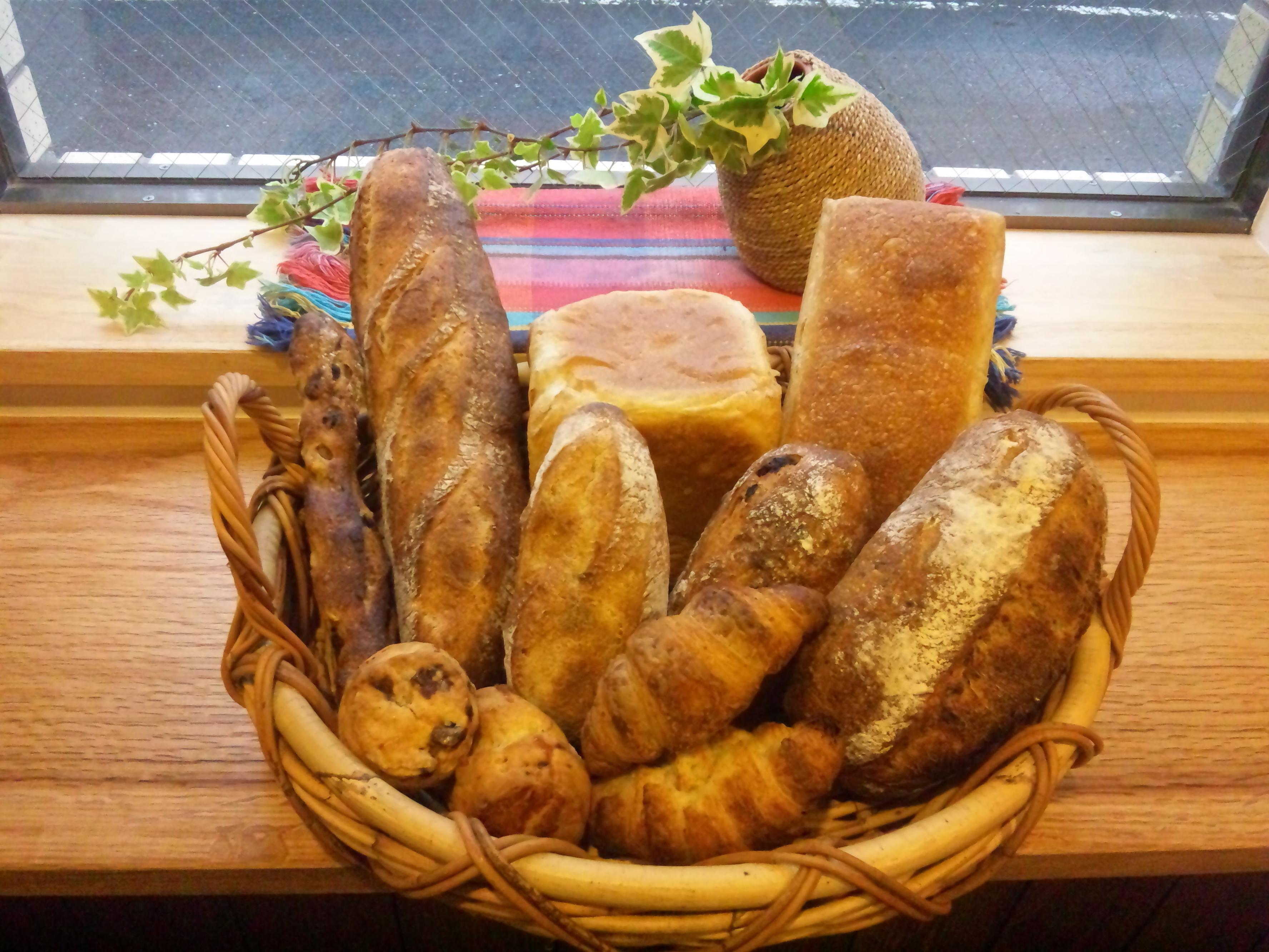ゆいまーるのパン