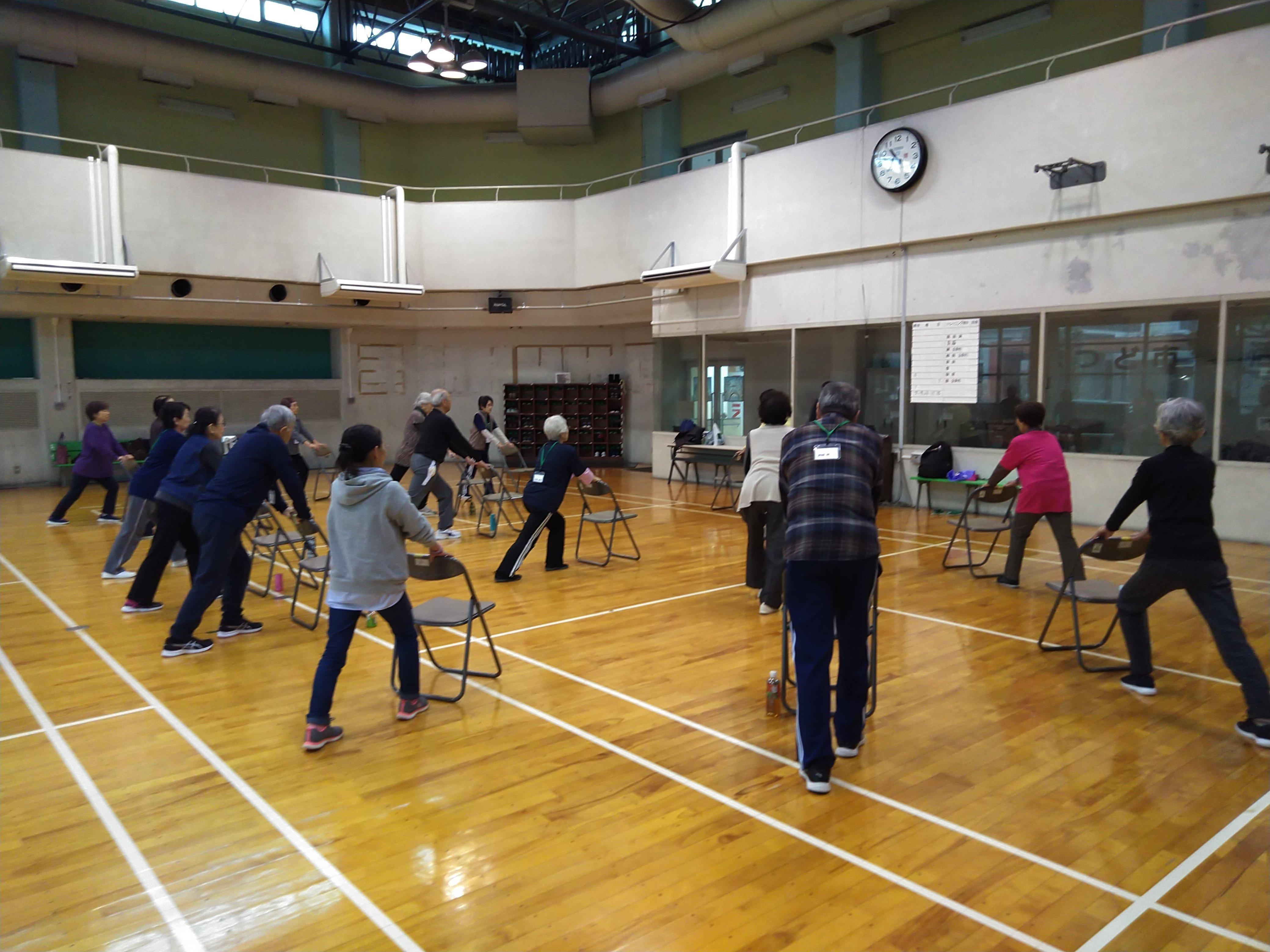 介護予防事業(イキイキ運動教室)